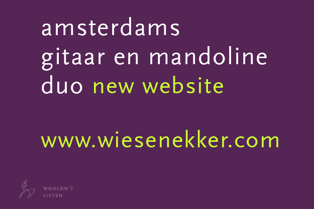 New Website: www.wiesenekker.com